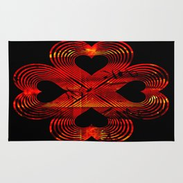 Valentines - Lucky in Love Rug