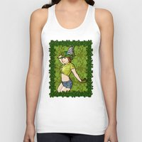 peter pan Tank Tops featuring Peter Pan. by Benimarudo