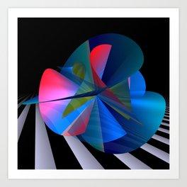 opart imaginary -13- Art Print