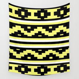 Etnico Yellow version Wall Tapestry