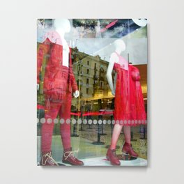 Wednesday 19 December 2012: reflection opting refracting opposition Metal Print