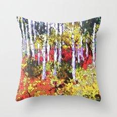 Glorious Colors Throw Pillow