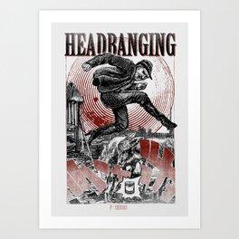 headbanging fucktory ska Art Print