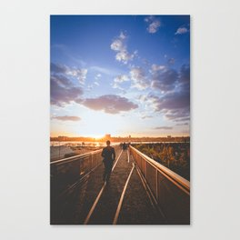 Golden Hour at The Highline Canvas Print