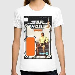 Luke Skywalker (farmboy) Vintage Action Figure Card T-shirt