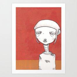 """So Mod"" Art Print"