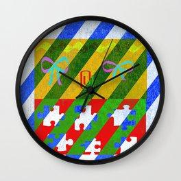 Mrs. Mustard  Wall Clock