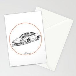 Crazy Car Art 0193 Stationery Cards