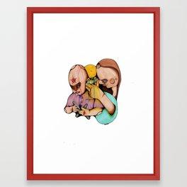 Ear Inspec Framed Art Print