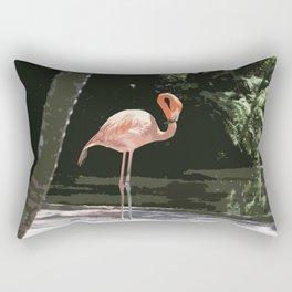Glamourous Flamingo Rectangular Pillow