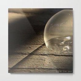 Frozen Bubbles * Magic Bubbles * square image Metal Print