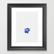 The Unwise Fish Framed Art Print
