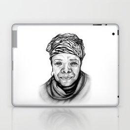 Maya Angelou - BW Original Sketch Laptop & iPad Skin