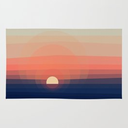 Colors Sunset Rug