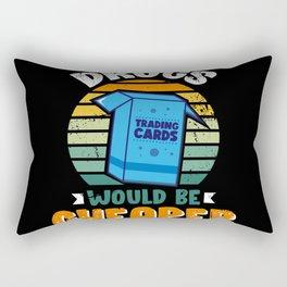 Trading Card Art TCG Design for TCG Nerd Rectangular Pillow