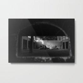 Private Viewing Metal Print