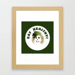 I love vegetables Framed Art Print