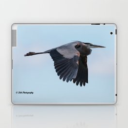 Great Gray Heron Laptop & iPad Skin