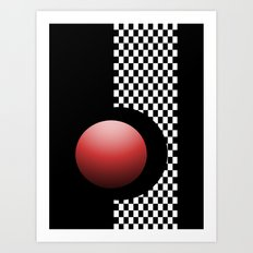 Red Point 99 Art Print