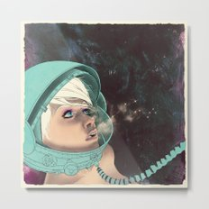 Bodies in Space: Phase Change Metal Print