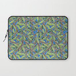 Leaves and Branches in Weaving Tangle Laptop Sleeve