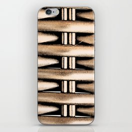 Bamboo Weft by FreddiJr iPhone Skin
