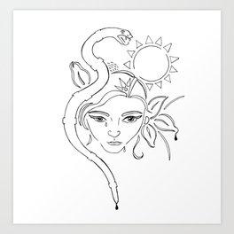 nodapl Art Print