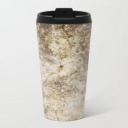 Old and Cracked Metal Travel Mug