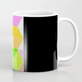 Colorful Triangle Mosaic Coffee Mug