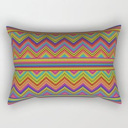 ziggy-zag x-dust Rectangular Pillow