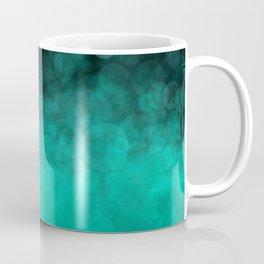 Aqua Cyan Spotted Coffee Mug
