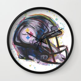 Steeler Nation Wall Clock