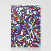 sparkle Stationery Cards featuring Sparkle by Erin Jordan