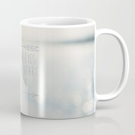 close your eyes ... clear your heart ... let go Coffee Mug