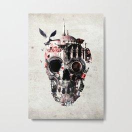 Istanbul Skull Metal Print