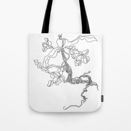 WEED ROOT Tote Bag