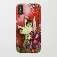 valentina iPhone & iPod Cases featuring Valentina by ASerna