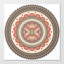 Mandala Eight - Delapan Canvas Print