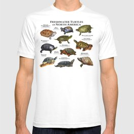Freshwater Turtles of North America T-shirt