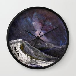Northern Mountain Wall Clock