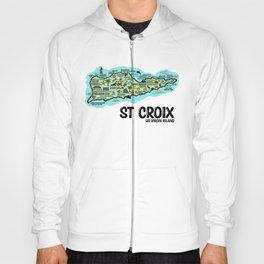 St Croix Map Hoody