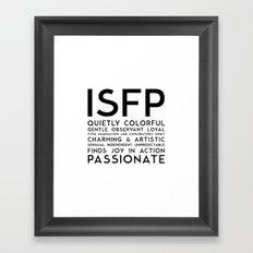 ISFP Framed Art Print