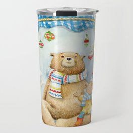 Forest stories. It´s snowing! n.11 Travel Mug