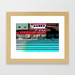 Industrial Landscape Framed Art Print