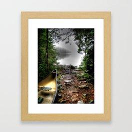 'Portage' Framed Art Print