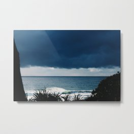Left on Right Metal Print