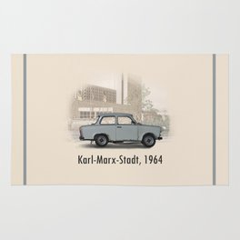 A Trabant in Karl-Marx-Stadt Rug