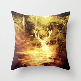 Guardian Spirit of the Forest  Throw Pillow