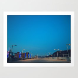 City Nights III Art Print