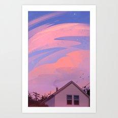 Summer Evenings Art Print